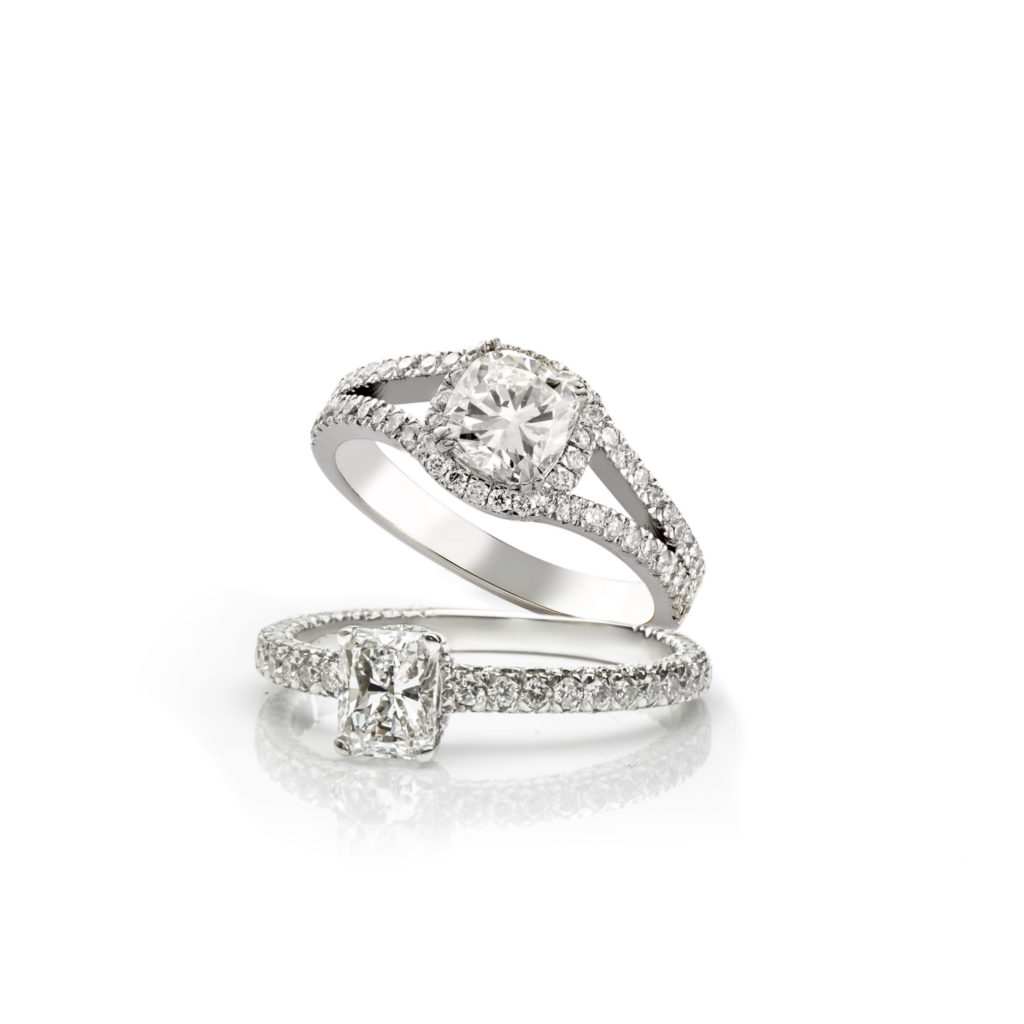 White Diamond Ring