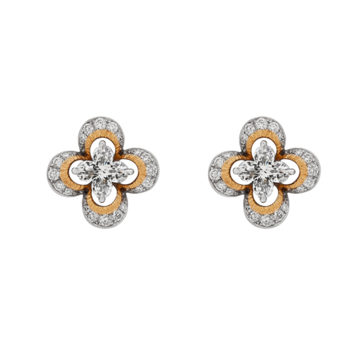 Lily® Cut Diamond Stud Earrings