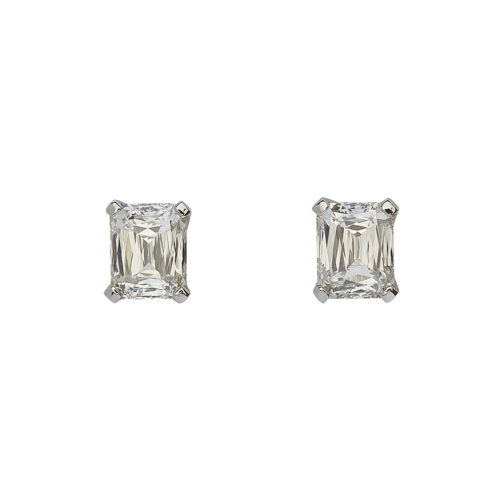 Criscut diamond stud earrings