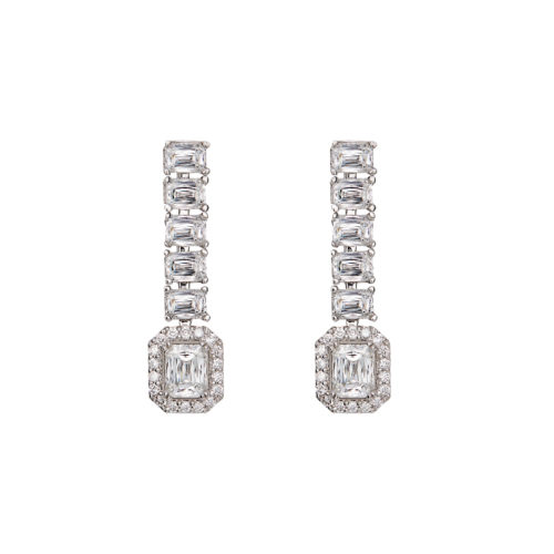 Crisscut® Diamond Drop Earrings